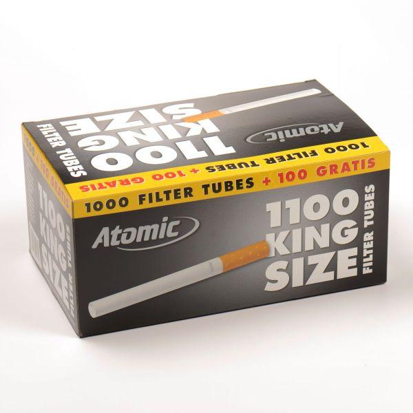 Atomic Zigarettenhülsen (Schachtel á 1100 Stück)