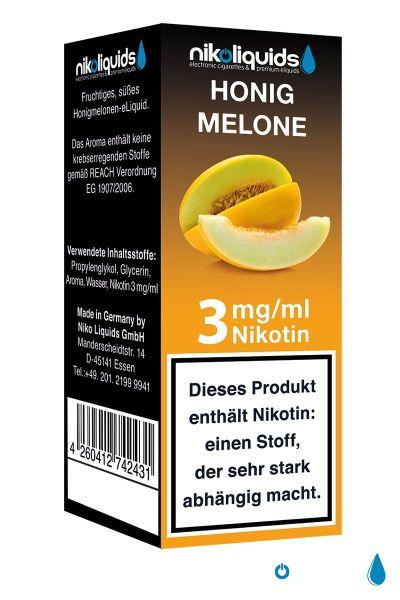NikoLiquids Honigmelone Liquid 3mg Nikotin/ml