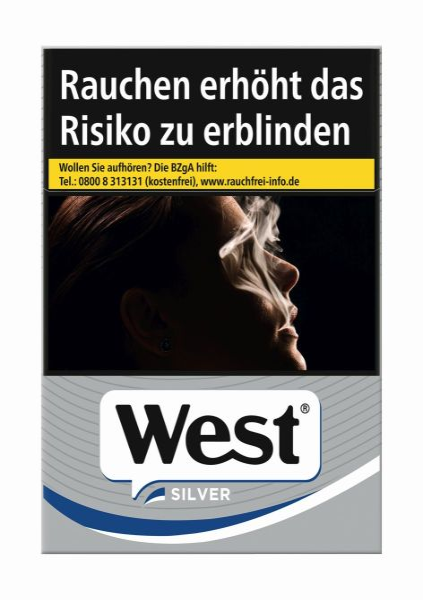 West Zigaretten Automat Automatenp. Silver (20x21er)