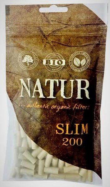 Natur Slim Authentic Organic Filter 6mm (20 x 200 Stück)