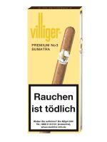 Villiger Zigarillos Premium No. 3 Sumatra (Schachtel á 5 Stück)