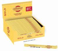 Candlelight Zigarillos Gold Filter Cigarillos (Packung á 50 Stück)
