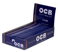 OCB Ultimate Zigarettenpapier 1-1/4 (25 x 50 Stück)