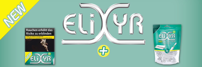 Elixyr+ Plus Menthol Zigarette - Filter