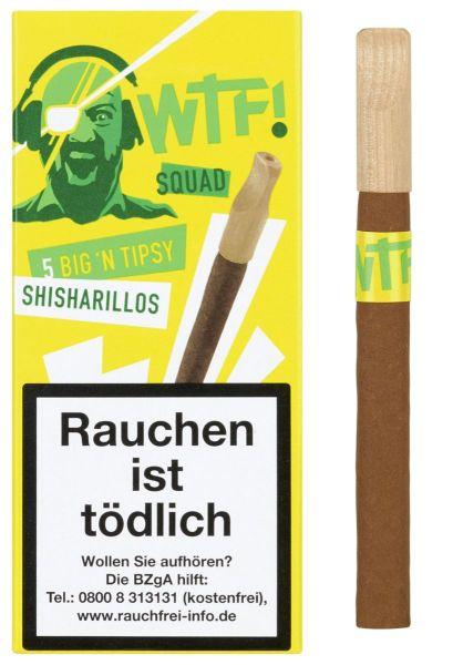 WTF! Zigarillos Shisharillo SQAD Big 'n Tipsy (Packung á 5 Stück)