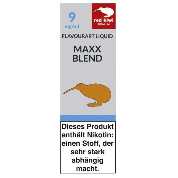 Red Kiwi eLiquid Maxx Blend 9mg Nikotin/ml (10 ml)