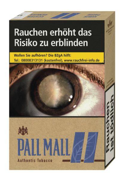 Pall Mall Zigaretten Authentic Blue (10x20er)