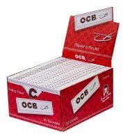 OCB Weiß long Papier (50 x 32 Stück)