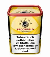 Brookfield Zigarettentabak Gold Blend (Dose á 120 gr.)