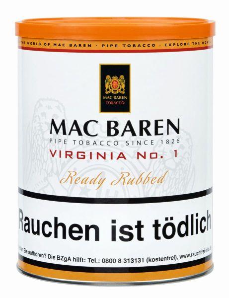 Mac Baren Pfeifentabak Virginia No.1 (Dose á 250 gr.)