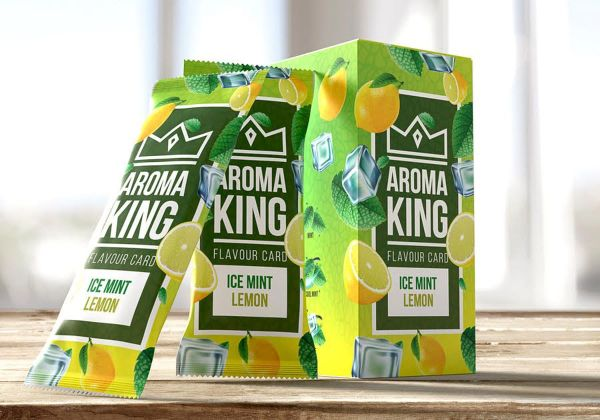 Aroma King Aroma Card Ice Mint Lemon (25 x 1 Stück)