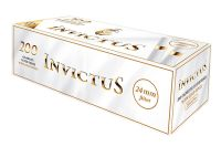 Invictus White Gold Ring Extra Zigarettenhülsen