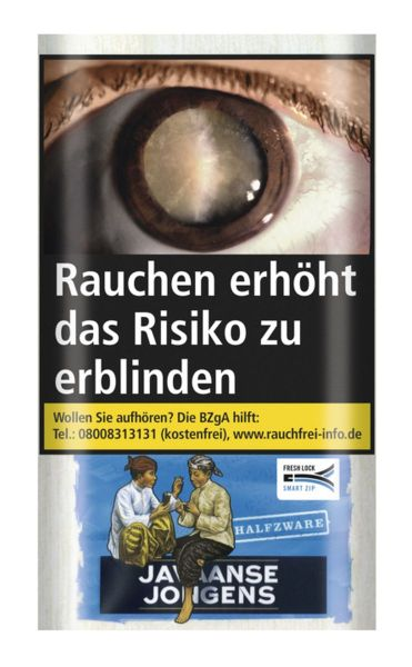 Javaanse Jongens Zigarettentabak Halfzware (6x30 gr.) 7,20 € | 43,20 €