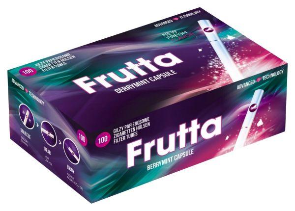 Frutta Berry Mint Click Filterhülsen Zigarettenhülsen (100 Stück)