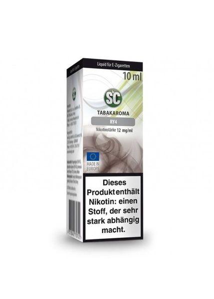 SC eLiquid RY4 Tabak 12mg Nikotin/ml (10 ml)