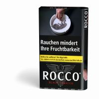 Rocco Zigarettentabak Black Tobacco (10x38 gr.) 4,80 € | 48,00 €