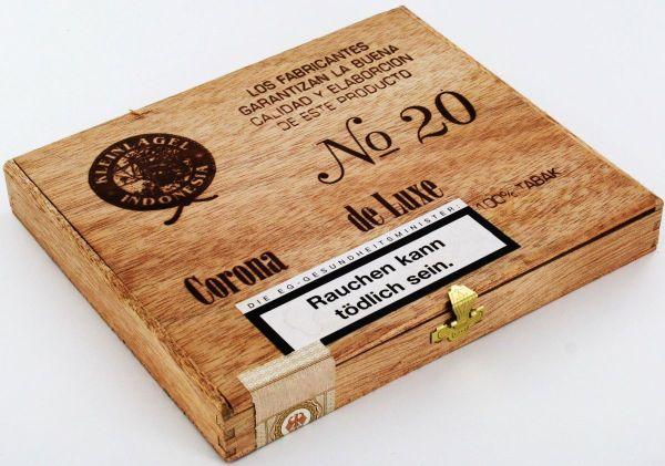 Kleinlagel Zigarren Indonesia Corona Nr. 20 (Packung á 10 Stück)