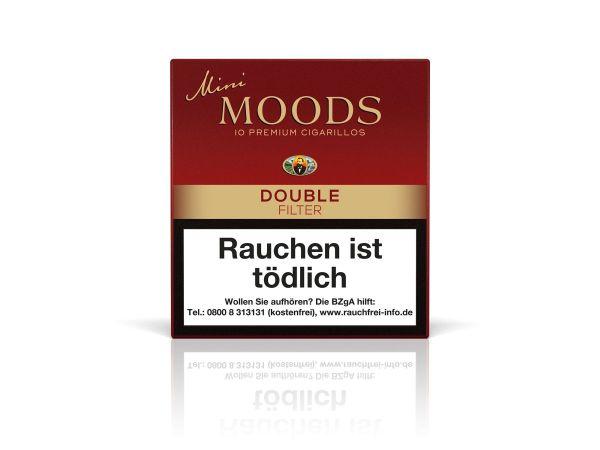 Moods Zigarillos Mini Double Filter (Schachtel á 10 Stück)