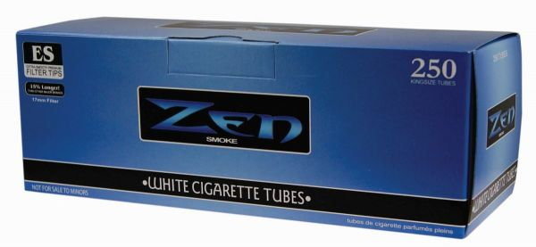 Zen White Zigarettenhülsen (Schachtel á 250 Stück)