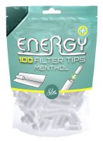 Energy Menthol Filter Tips (10 x 100 Stück)