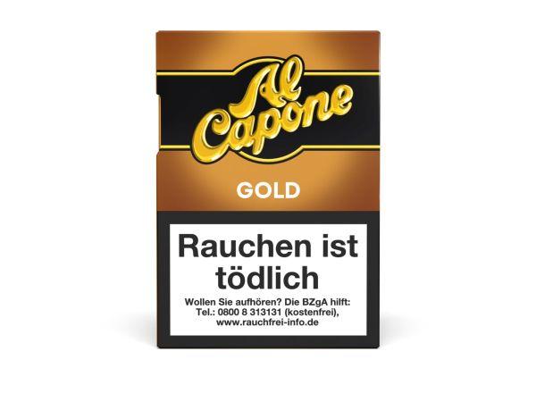 Al Capone Zigarillos Pockets Gold Filter (Schachtel á 18 Stück)