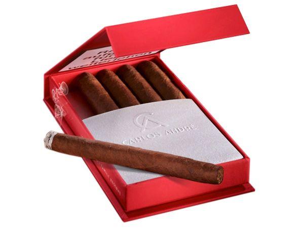 Carlos Andre Zigarillos Club Cigarillo Red (Schachtel á 5 Stück)