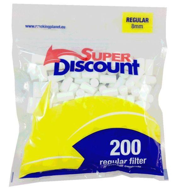 Super Discount Filter Regular 8mm (16 x 200 Stück)