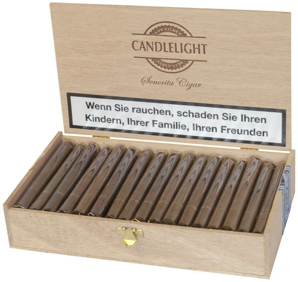 Candlelight Zigarren Senoritas Brasil (Packung á 50 Stück)