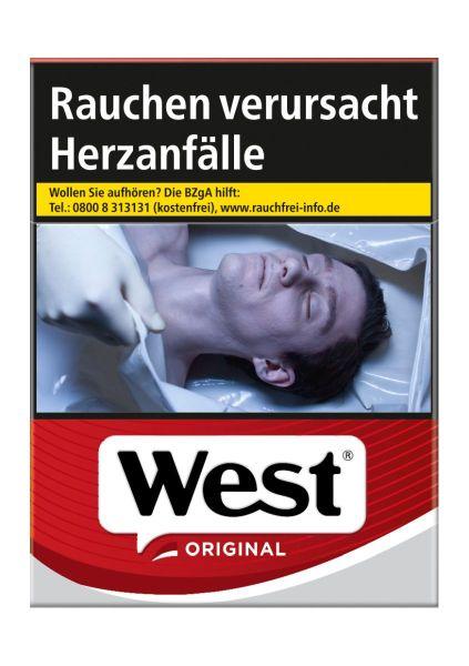 West Zigaretten Automat Automatenp. Original (20x22er)