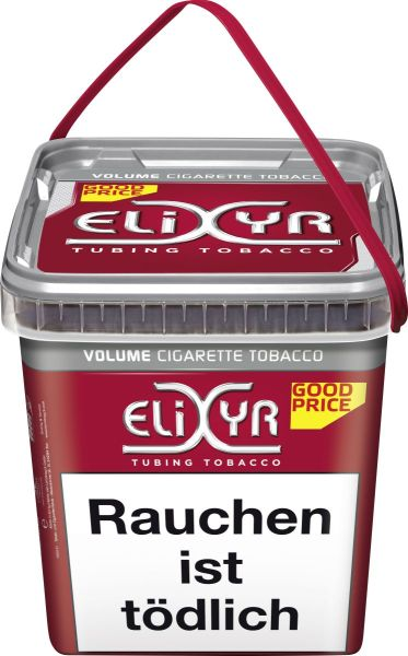 Elixyr Volumentabak Volume Cigarette Tobacco (Eimer) (Dose á 320 gr.)