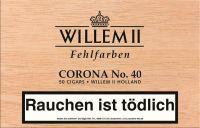 Scandinavian Zigarren Willem II Fehlfarben Corona Nr. 40 (Packung á 50 Stück)