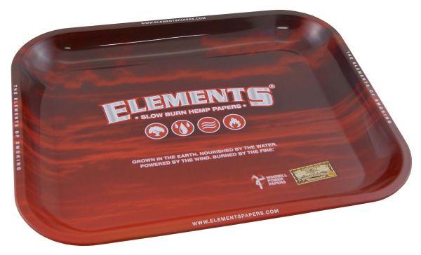 Elements Red Drehtablett aus Metall (Stück á 1 Stück)