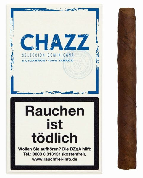 CHAZZ Zigarillos Cigarros (Schachtel á 5 Stück)