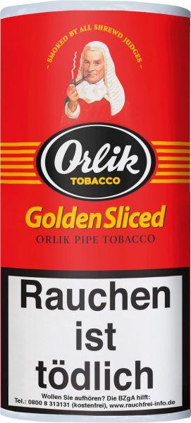 Scandinavian Pfeifentabak Orlik Golden Sliced (Pouch á 50 gr.)