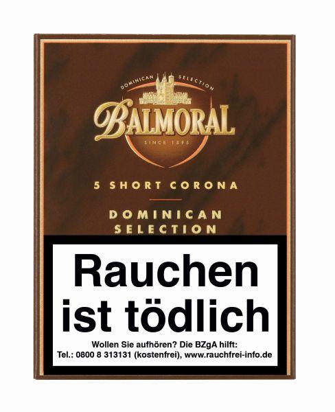 Agio Zigarren Balmoral BDS Short Corona (Schachtel á 5 Stück)