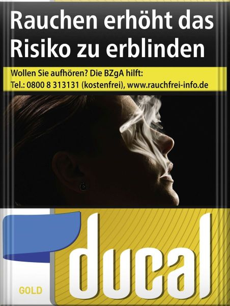 Ducal Zigaretten Gold Cigarettes (XXL) (8x27er)