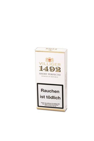 Villiger Zigarren 1492 Short Perfecto (Schachtel á 3 Stück)