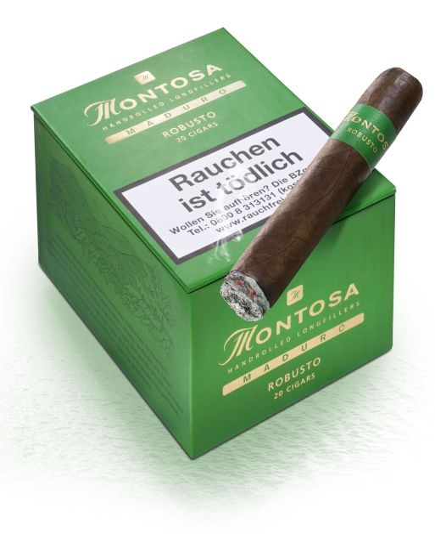 Montosa Zigarren Maduro Robusto (Packung á 20 Stück)