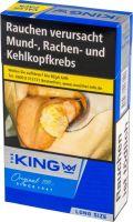 The King Zigaretten King Blue 100's Long Size (8x22er)