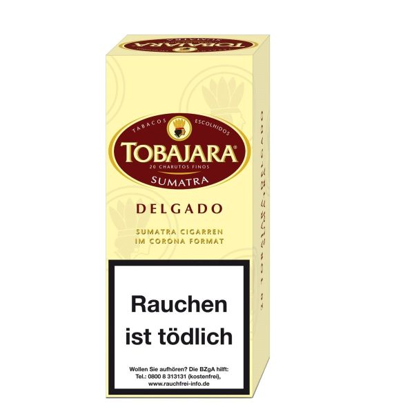 Villiger Zigarren Tobajara Delgado Sumatra (Schachtel á 20 Stück)