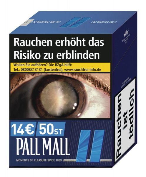 Pall Mall Blue €14,- (Jumbo)