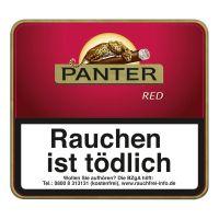 Panter Zigarillos Red ohne Filter (Schachtel á 20 Stück)