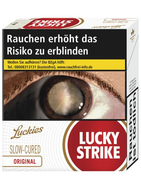 Lucky Strike Zigaretten Original Red 10 € (Giga) (8x31er)