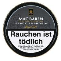 Mac Baren Pfeifentabak Black Ambrosia (Dose á 100 gr.)