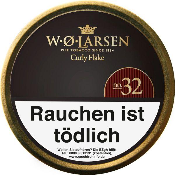 Scandinavian Pfeifentabak Larsen Curly Flake No. 32 (Dose á 50 gr.)