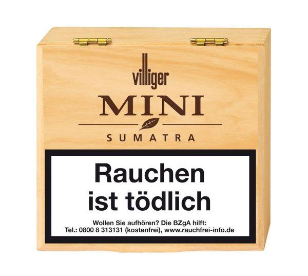 Villiger Zigarillos Mini Sumatra (Schachtel á 50 Stück)
