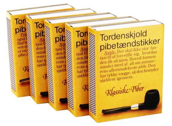 Streichhölzer - Zigarre Dänisches Pfeifenholz (5 x 1 Stk.)