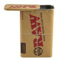 RAW Metall Box Slide verschliessbar Zigarettenetui