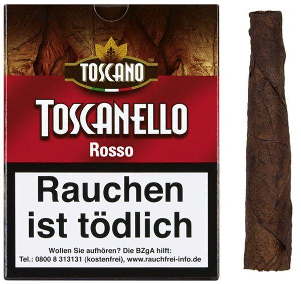 Toscano Zigarren Toscanello Rosso (Packung á 5 Stück)